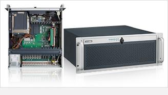 4U Rackmount Chassis for Full-size SHB/SBC or ATX/MicroATX Motherboard with 4 SAS/SATA HDD Trays
